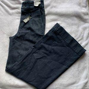 NWT Express Wide Leg Super High Rise Jeans 0 Regular